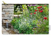 Garden Flowers With Stream Carry-all Pouch