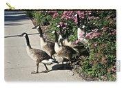 Garden Geese Parade Carry-all Pouch