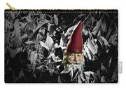 Garden Gnome With Gray Background Carry-all Pouch