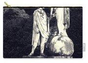 Garden Statue At Villa Capri Carry-all Pouch