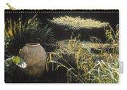 Garden Urns In A Garden Carry-all Pouch