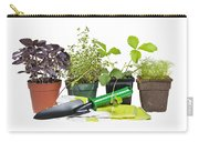 Gardening Tools And Plants Carry-all Pouch