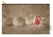Garlic And Textures Carry-all Pouch