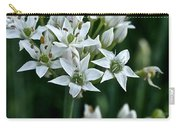 Garlic Chive Blooms Carry-all Pouch