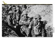 Gas Masks, World War I Carry-all Pouch by Photo Researchers