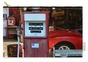 Gas Pump - Texaco Gas Globe Carry-all Pouch