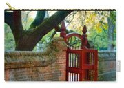Gate In Brick Wall Carry-all Pouch