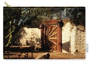 Gate To Cowboy Heaven In Old Tuscon Az Carry-all Pouch