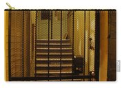 Gated Stairwell At Night Carry-all Pouch