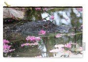 Gator Among Crape Myrtle Carry-all Pouch