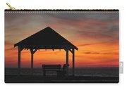 Gazebo At Sunset Seaside Park, Nj Carry-all Pouch