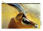 Gazelle Carry-all Pouch by Karen Wiles
