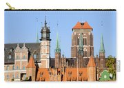 Gdansk Old Town In Poland Carry-all Pouch