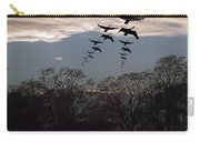 Geese At Dusk Carry-all Pouch