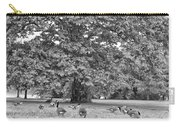 Geese By The River Carry-all Pouch by Bill Cannon
