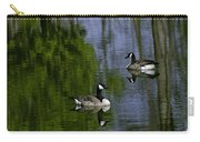 Geese On The Pond Carry-all Pouch