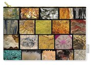 Gemstones And More Collage Carry-all Pouch