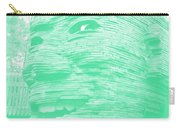 Gentle Giant In Negative Green Carry-all Pouch