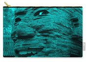 Gentle Giant In Turquois Carry-all Pouch