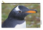 Gentoo Penguin Head Shot Carry-all Pouch