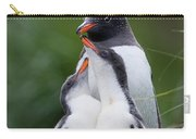 Gentoo Penguin Pygoscelis Papua Hungry Carry-all Pouch