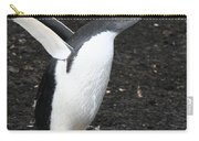 Gentoo Penguin With Something To Say Carry-all Pouch
