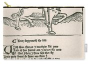 Geoffrey Chaucers, Canterbury Tales Carry-all Pouch