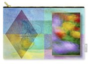 Geometric Blur Carry-all Pouch