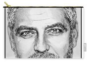 George Clooney In 2009 Carry-all Pouch