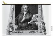 George Frideric Handel, German Baroque Carry-all Pouch by Omikron