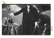 George Washington, 1st American Carry-all Pouch by Omikron