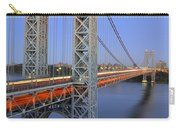 George Washington Bridge At Twilight Carry-all Pouch