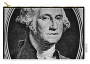 George Washington In White Carry-all Pouch