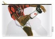 George Weah In Action Carry-all Pouch