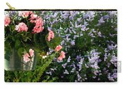 Geranium And Lilac Painting Carry-all Pouch