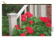 Geraniums On The Steps Carry-all Pouch