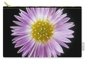 Gerber Daisy In Black Background Carry-all Pouch