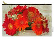 Gerbera Daisies Carry-all Pouch