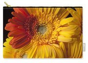 Gerbera Daisy With Orange Petals Carry-all Pouch