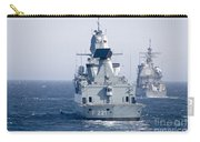 German Frigate Ffg Hessen And Uss Carry-all Pouch