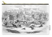 Germany: Dog Racing, 1859 Carry-all Pouch