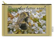 Get Well Card - Bumblebee Carry-all Pouch