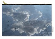 Geyser Basin Cloud Reflection Carry-all Pouch