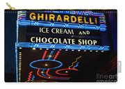 Ghirardelli Chocolate Signs At Night Carry-all Pouch