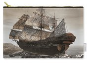 Ghost Ship Of The Cape Carry-all Pouch by Lourry Legarde