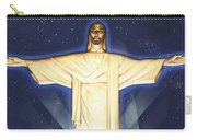 Giant Figure Of Christ Carry-all Pouch