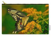 Giant Swallowtail On Goldenrod Carry-all Pouch
