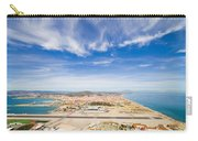 Gibraltar Airport Runway And La Linea Town Carry-all Pouch