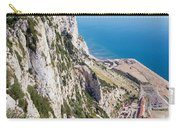 Gibraltar Rock And Mediterranean Sea Carry-all Pouch