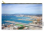 Gibraltar Runway And La Linea Cityscape Carry-all Pouch